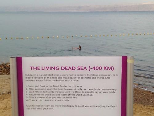 Mar Muerto en Jordania @3viajes