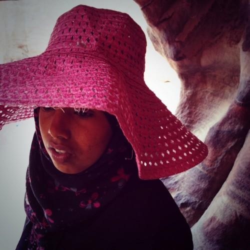 Niña jordana en Petra @3viajes