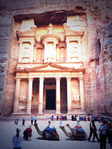 Llegada a Petra por el Siq @3viajes