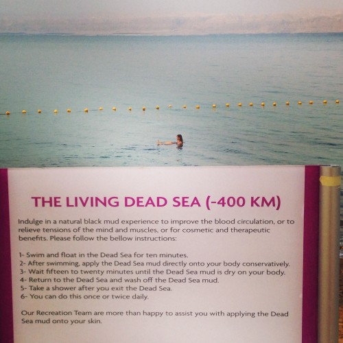 Mar Muerto, Jordania @3viajes