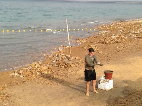 Tratamiento natural con los lodos del mar Muerto @3viajes