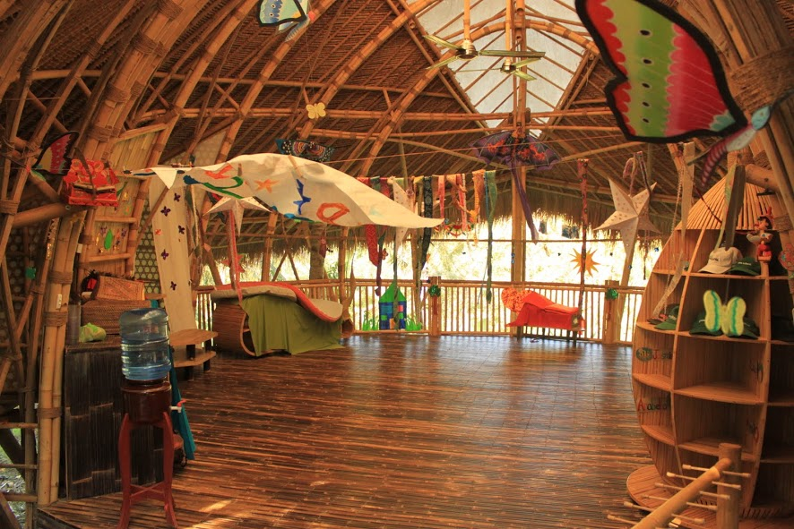 Visita a la Green School de Bali, la escuela de bambú