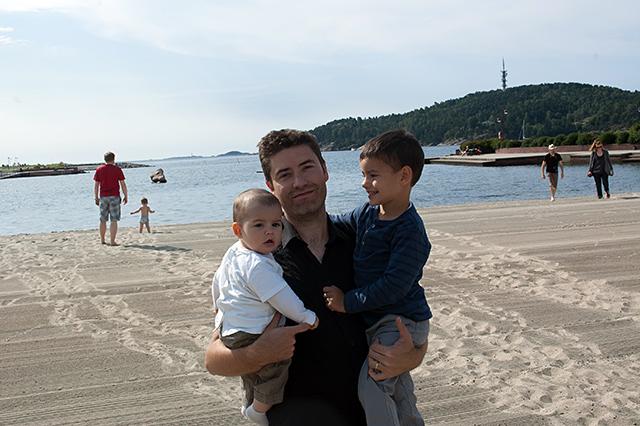Manuel y sus niños