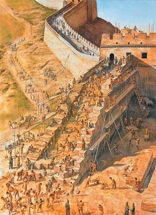 La Construcción De La Gran Muralla China 3viajes