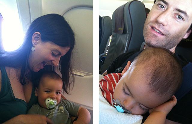 Primeros vuelos con nuestros hijos