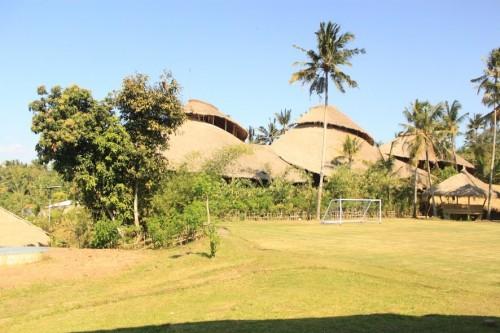 La Green School de Bali, una escuela de Bambú