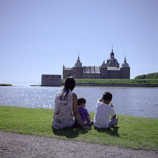 Un momento de íntima paz en Kalmar, Suecia