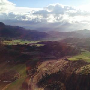 Parque Natural de La Garrotxa desde el globo @3viajes
