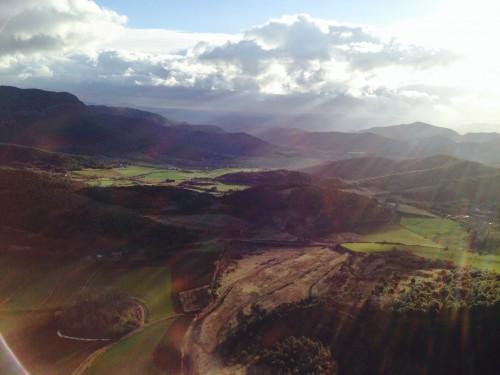 Los volcanes de La Garrotxa a vista de pájaro @3viajes
