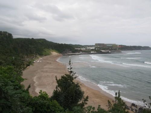 Playa en Jeju island