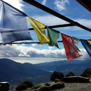 Oraciones tibetanas en Oseling @3viajes