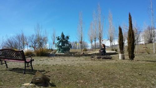 Una persona meditando en la etapa final de Oseling @3viajes