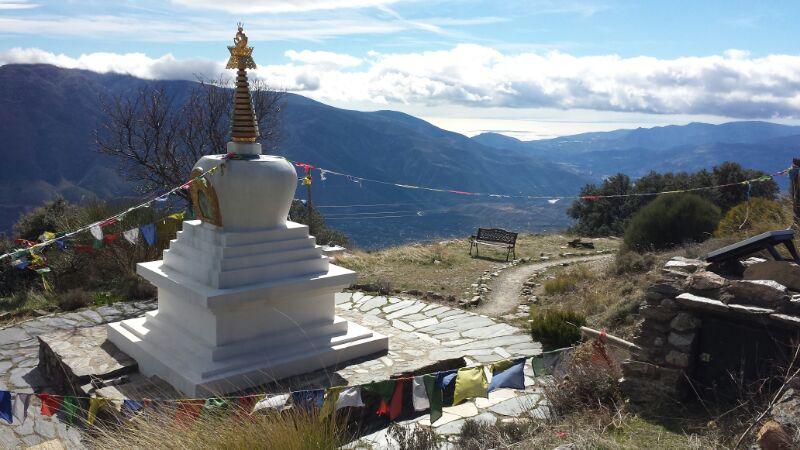 Oseling, un rincón del Tíbet en Granada
