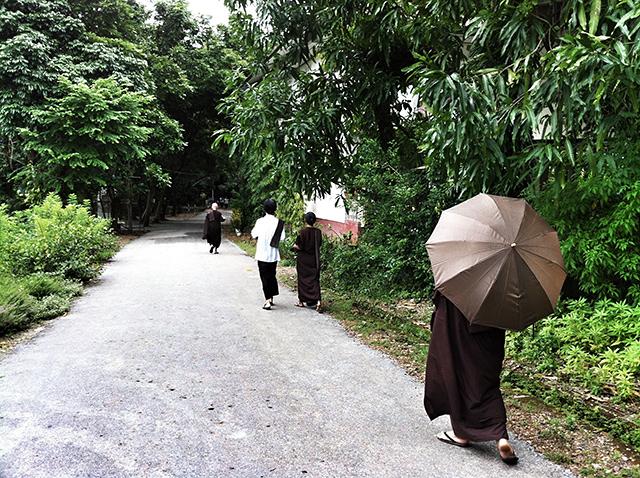 El monasterio Pa-Auk está enclavado en las montañas