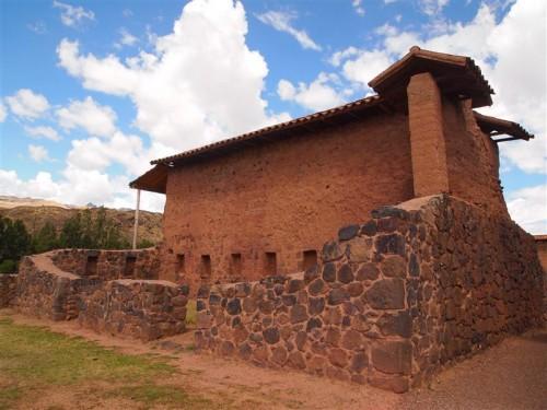 Casa de la ciudadela de Raqchi