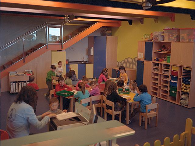 Sala de juegos infantil del camping Berga Resort