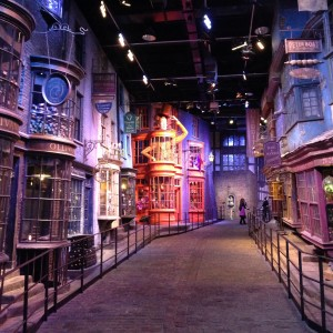 Visita a los estudios de Warner Bros en Londres