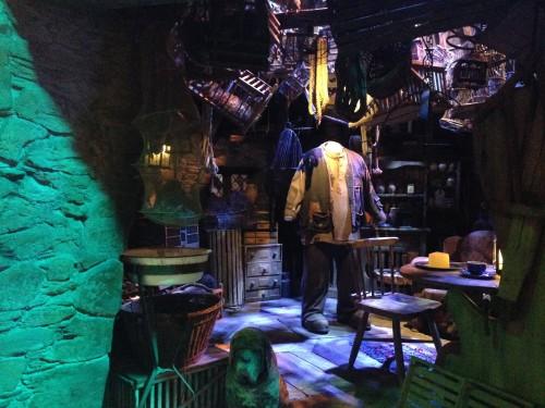 La cabaña de Hagrid y Fang @3viajes
