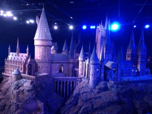 Maqueta de Hogwarts, inspirada en las Highlands de Escocia @3viajes