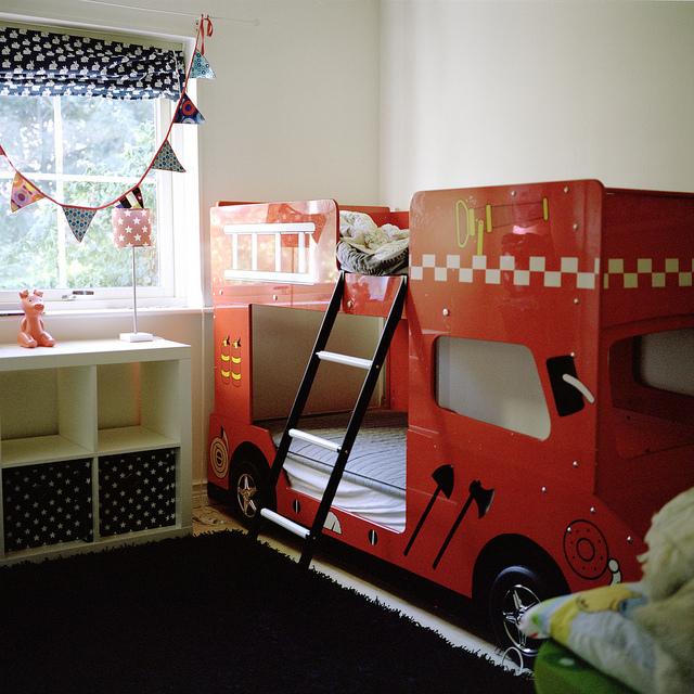 Nuestra casa en Torsas, habitación infantil