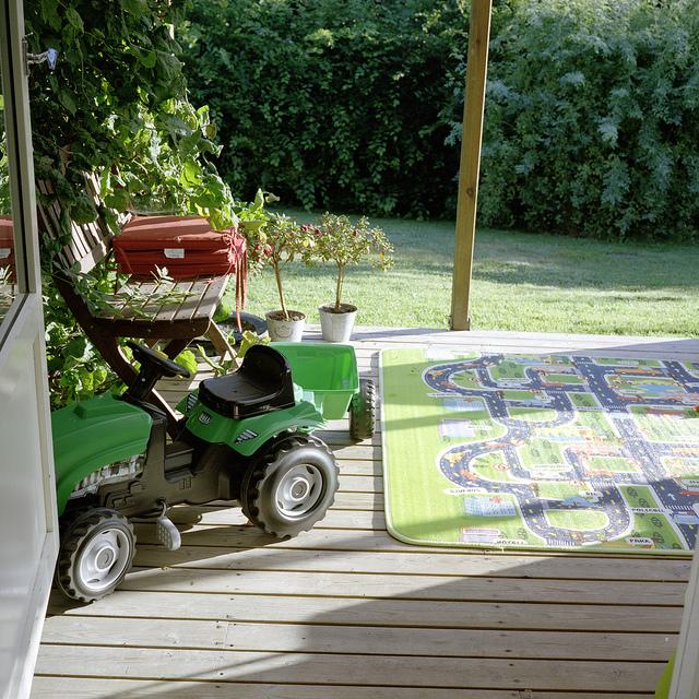 Nuestra casa en Torsas, juguetes por doquier