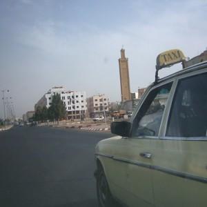Taxi en Marruecos