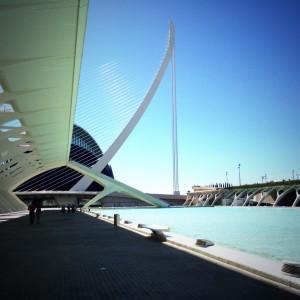 Paseo hacia el Oceanogràfic en Valencia @3viajes