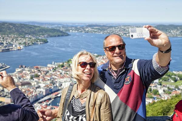 El trasiego de cruceros es constante en Bergen