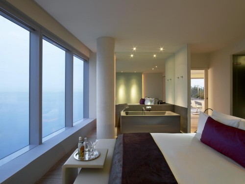 Suite Bedroom en W Barcelona