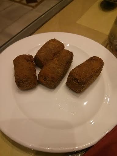 Croquetas de rabo de toro del Restaurante Becerrita