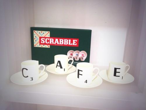 Tazas de café Scrabble en Gnomo @3viajes