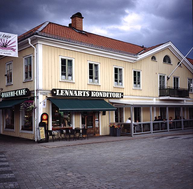 Lennarts konditori, muy recomendable para hacer un fika en Eksjö