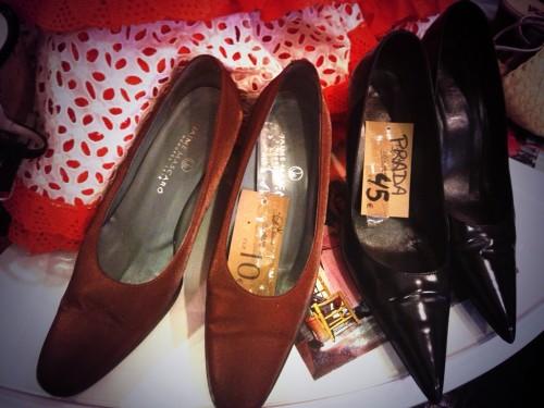 Zapatos vintage de Jaime Mascaró y Prada @3viajes