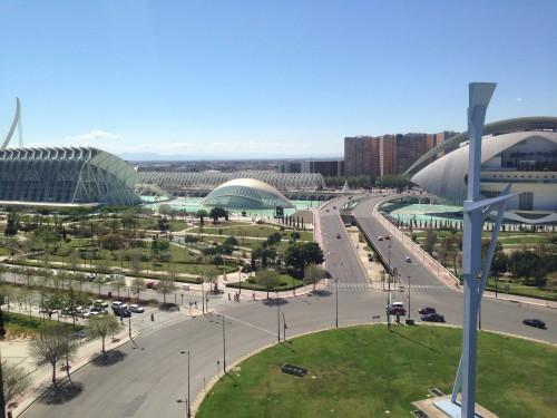 Ciudad de las Artes y de las Ciencias en Valencia @3viajes