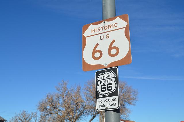 Ruta 66 histórica. Por Randy Heinitz
