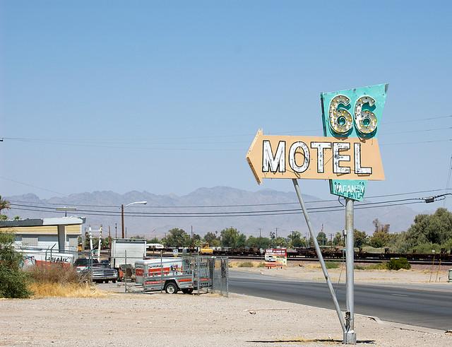 Símbología de la Ruta 66. Por Doug Wertman