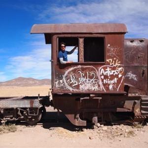 Cementerio de trenes de Uyuni