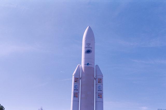 Cohete Ariane 5 de la Agencia Espacial Europea
