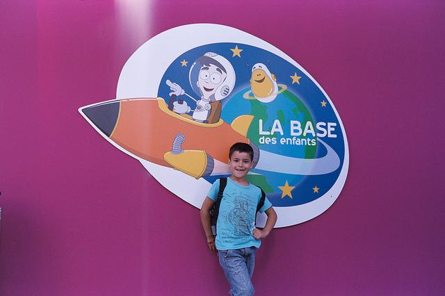 La Base des Enfants, un espacio dedicado enteramente a los niños