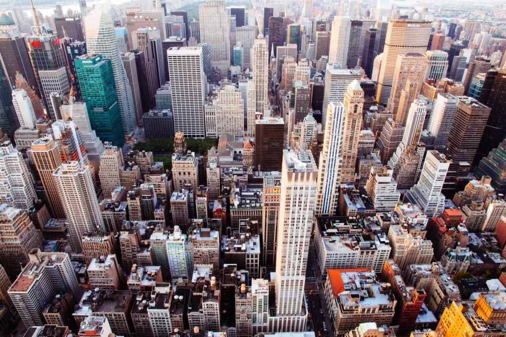 Lo primero que ves desde arriba del Empire State