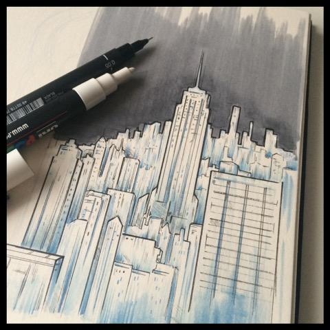 Viaje 'ilustrado' a Nueva York