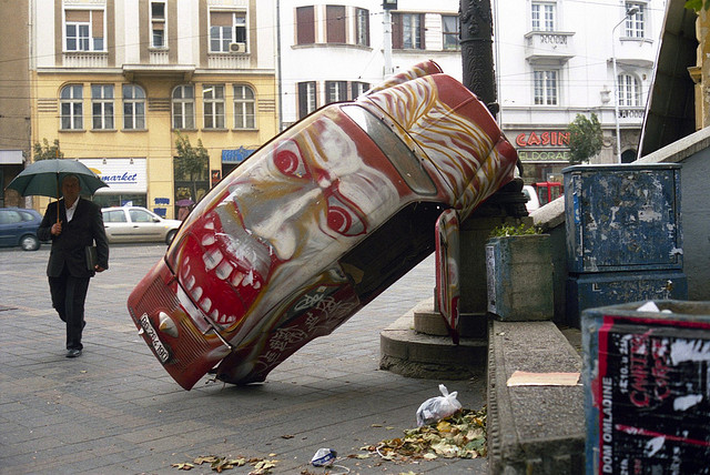 Belgrado street art
