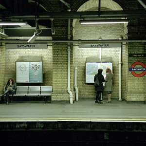 Londres, la mitad del tiempo te lo pasas bajo tierra