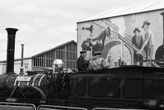 Tren Museo de la Ciencia de Manchester