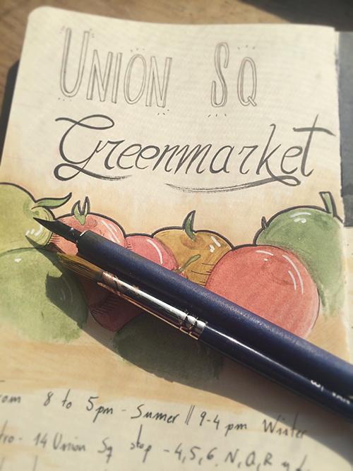 Greenmarkets de Nueva York