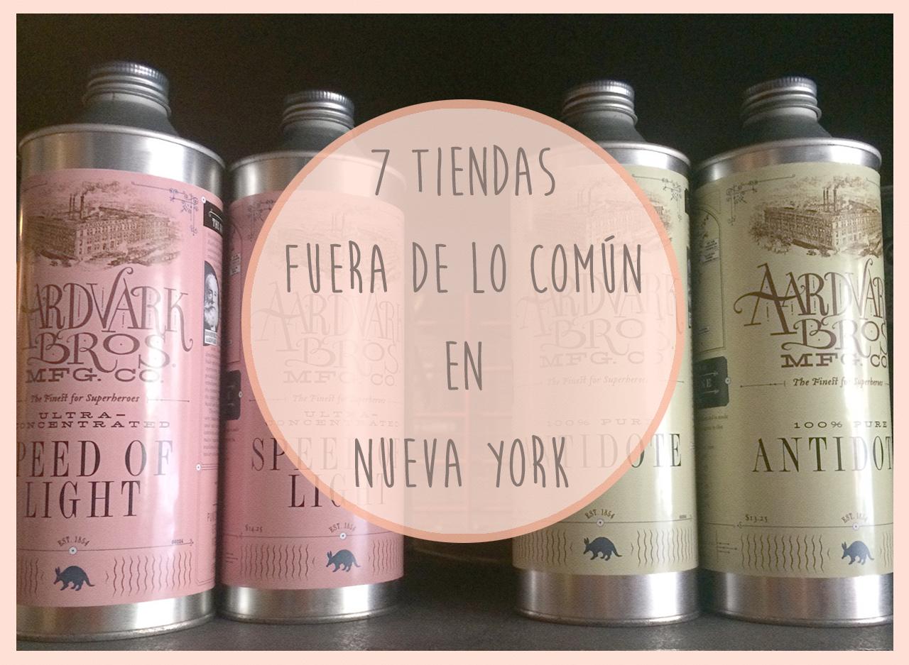 7 tiendas fuera de lo com n en new york 3viajes for Fuera de lo comun