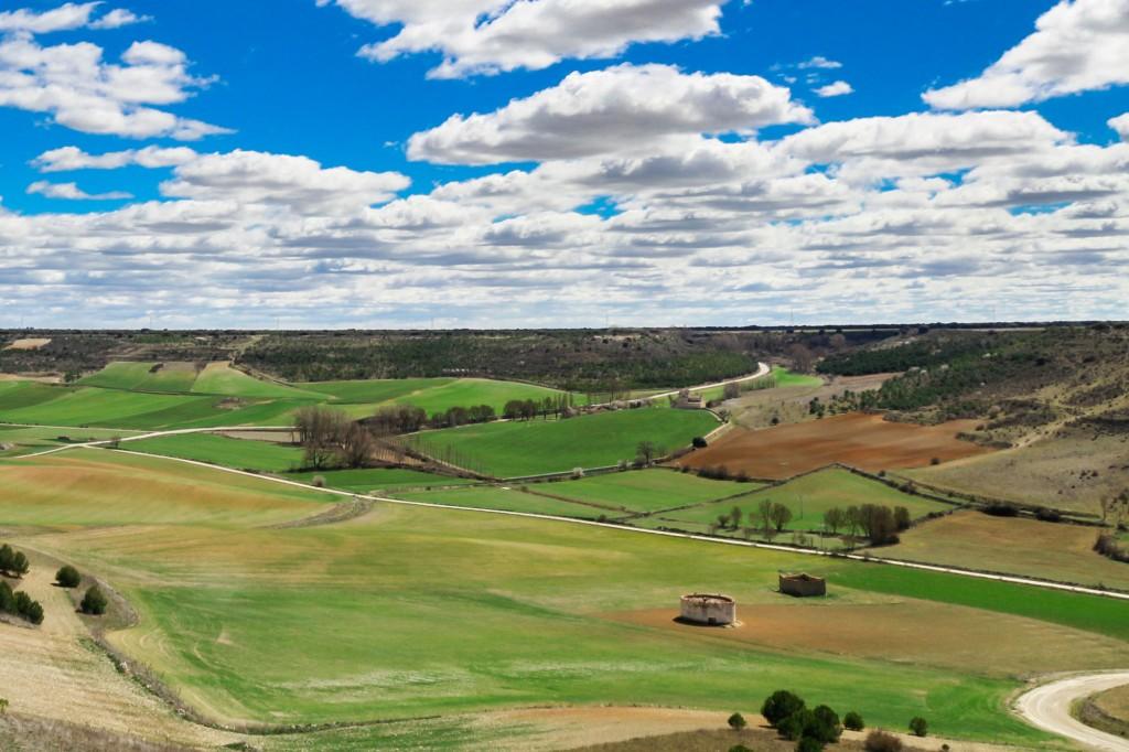 Valladolid - cielo con nubes