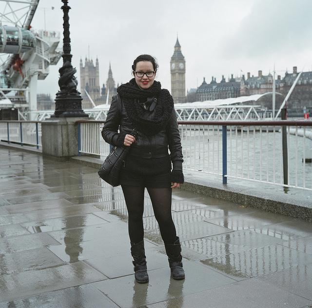 Amalia en Londres