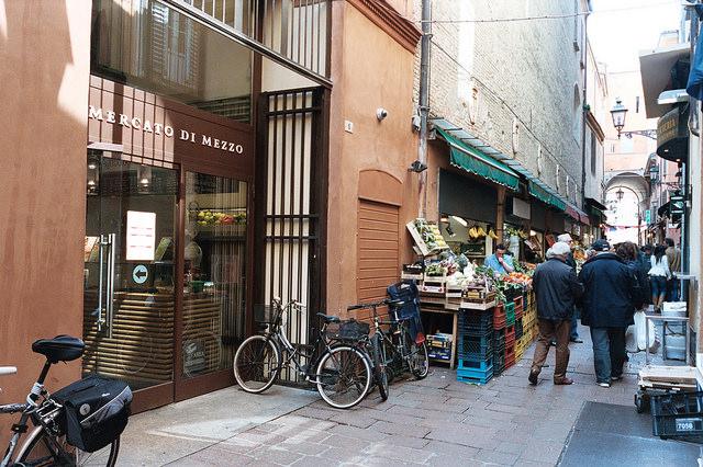 Mercato di Mezzo de Bolonia