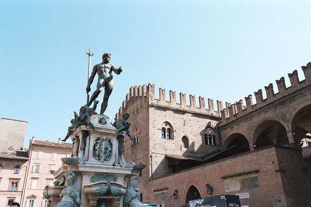 Piazza Maggiore de Bolonia